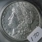 Lot of 3 1889 Morgan Silver Dollars