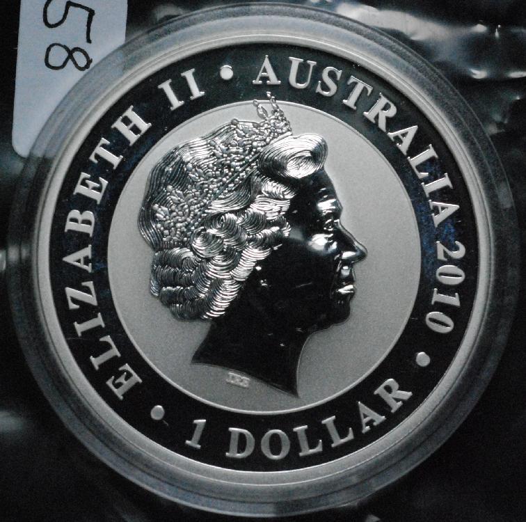2010 Australia 1 Oz Silver Koala