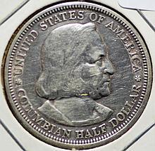 1892 Columbian Expo Silver Half Dollar