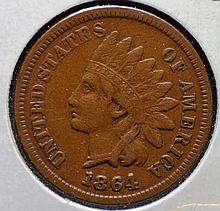 1864 L Indian Head Cent