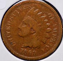 1869/69 Indian Head Cent