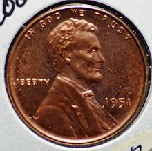 1951 Proof Lincoln Cent