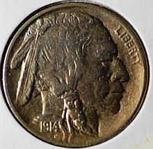 1914 Buffalo Nickel