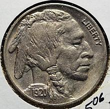 1920 Buffalo Nickel