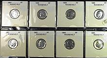 1957-1964 Proof 90% Silver Dimes