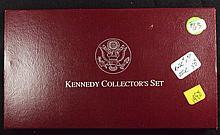 1998 2 pc Kennedy Collectors set Matte Half
