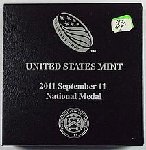 2011 9-11 United States Mint Medal