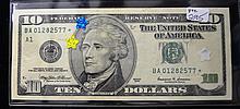 1999 $10.00 FRN Stare note
