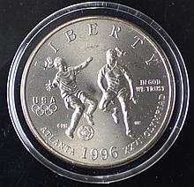 1996 Atlanta Olympic BU Commem Half Dollar