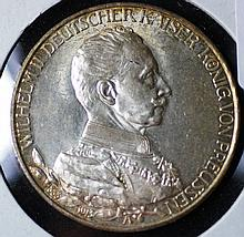 1913 German 3 Mark