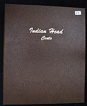 Partial Set of Indian Head Cents