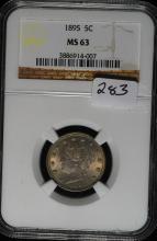 1895 Liberty (V) Nickel MS-63 NGC