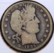 1895-O Barber Half Dollar