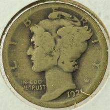 1921 Mercury Dime