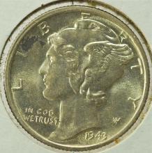 1943-D Mercury Dime