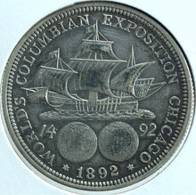 1893 Colombian Expo Silver Half Dollar
