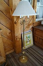 Fancy Brass Floor Lamp