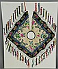 Chinese Ceremonial Embroidered Silk Collar