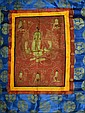 Chinese Buddhist Thangka