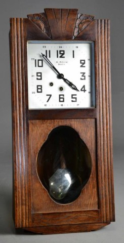 A. ROUX DIJON WALL CLOCK