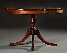 Drexel Mahogany Duncan Phyfe Style Dining Table