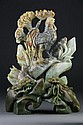 Chinese Jade Carving of Rooster