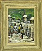 Bears the Signature Maurice Utrillo, V Oil on Canvas