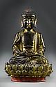 Chinese Ming Bronze Buddha Statue
