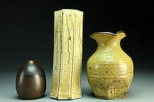 (3) Pcs. Signed American and Continental Art Pottery