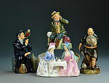 (4) Royal Doulton Figurines