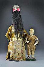 (2) Chinese Composition & Cloth Dolls