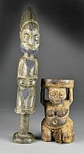 (2) African Wood Carvings