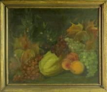 A Signed American School Oil Painting on Canvas