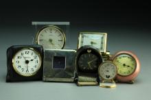(7) Pcs Assorted Desk Clocks