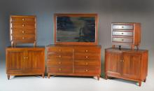 (5) Pieces Willett Transitional Cherry Furniture