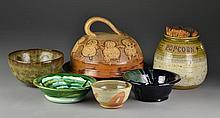 (6) Pieces Studio Pottery