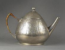 Arts & Crafts Tudric Style Pewter Teapot