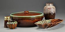 (5) Pcs Continental Art Pottery, Inc. Scheurich