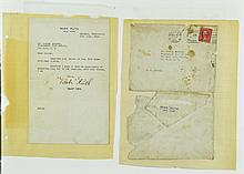 1926 Babe Ruth Signed Letter With Envelope