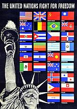 WWII United Nations Poster