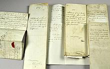 (6) 1811 To 1825, Abstracts, Marriage, & Letter, Documents