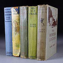 (5) Early Zane Grey Novels