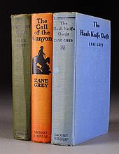 (3) Early Zane Grey Novels