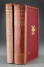 (2)1926 Amorous Fiammetta, 1930 The Love Books Of Ovid