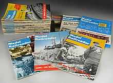 (36) 1960 to 1963 Model Railroader Magazines