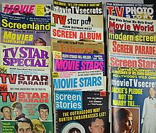 (50+) 1930's To 1970's Hollywood & Other Magazines