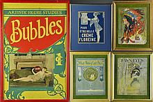 (5) Early 20th Century Sheet Music & Covers Framed