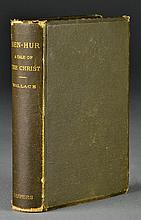 1880 First Edition Ben-Hur A Tale Of Christ By Lew Wallace