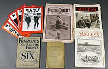 (12) 1898 To 1939 Magazines: News Review, Success, Etc.