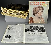 (27) 1932 To 1952 Etude Magazines